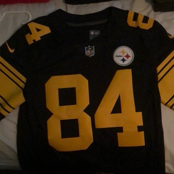 huge selection of 14a84 ad51a Antonio Brown Steelers Jersey (color rush)